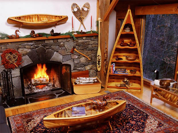 Canoe Furniture, Bookcase, Coffee tables & Display Canoes